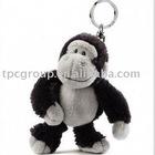 plush monkey keychain