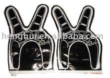Plastic hand bang sticks ; hand sticks