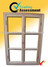 farm vintage hand carved antique wooden window frame