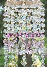 decorative wedding clear crystal bead curtain