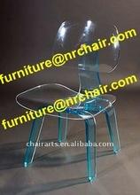 shanghai commercial furniture wholesale acrylic crystal children desk chair