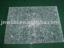 laminated broken glass