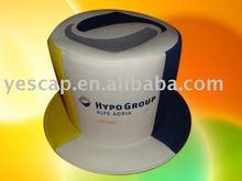 de promoción de sombrero de copa