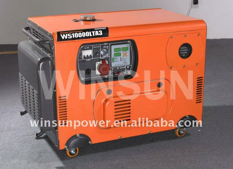10KW generador diesel silencioso