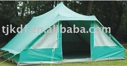 large canvas ridge camping tent TJ-KDF-5E6003