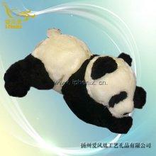 Custom soft lovely panda/ cute panda /Lying Panda Toys