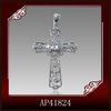 wholesale big cross pendant with cz