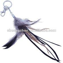 Fashion Cock Feather Keychain /Key Chain