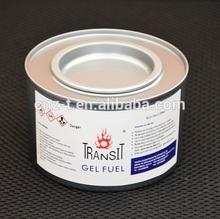 Gel combustibile di logoramento in 2.5h etanolo