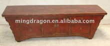 Chinese antique wood carving furniture Kang table