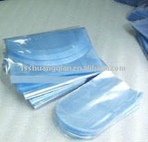 Transparent blue/white Dome Shrink Bag for Outpacking