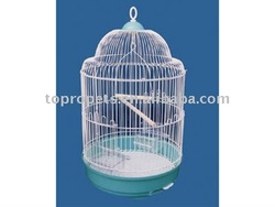 Wire hanging bird cages
