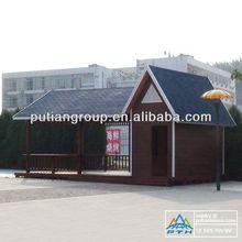 safe and sound insulation light steel structure prefabricated villa