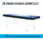 Steel material jet moulding massage bed