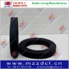 rubber brake lining in roll