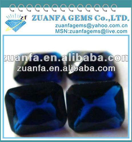 el mejor precio de piedras preciosas sintéticas de color azul oscuro de piedras preciosas