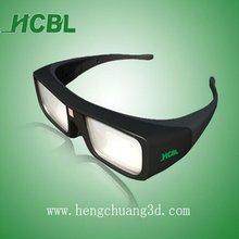 Aticve shutter 3D glasses active 3d TV glasses DLP 3D Projector Glasses