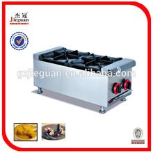 Gas range with 2-burner/gas stove kitchen equipment