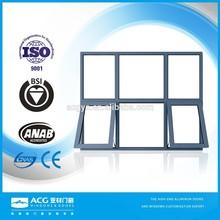 ACG Brand German style customized aluminium tilt and turn window