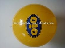 yellow promotional PVC ball