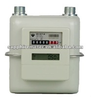ICG2.5S Sapphire Diaphragm Household Steel Case IC card prepaid intelligent Gas Meter