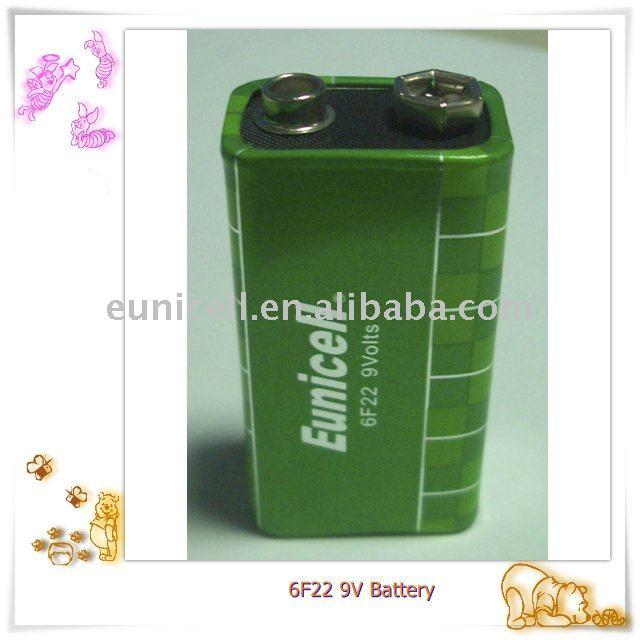 6f22 9v 006p batería batería de servicio pesado