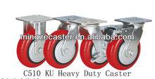 KU polyurethane caster wheels