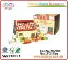 OEM Cheap wooden Role Play Kitchen Toy box EDUTOYS