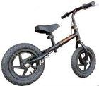 12X2 black CE certified balance bike