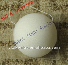 100% natural konjac sponge for washing face while massage