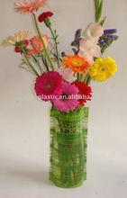 folding plastic flower vases