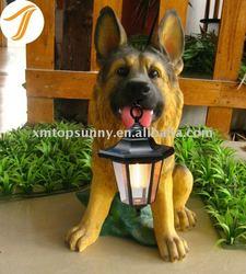 Popular Resin Dog Figurine German Shepherd