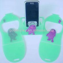 OEM FACTORY gift soft pvc mobile phone holder