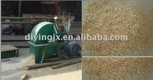 DY electric small wood branch crusher , wood sawdust hammer mill