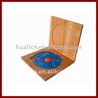 Fashion Solid Wooden CD/DVD Gift Storage Box