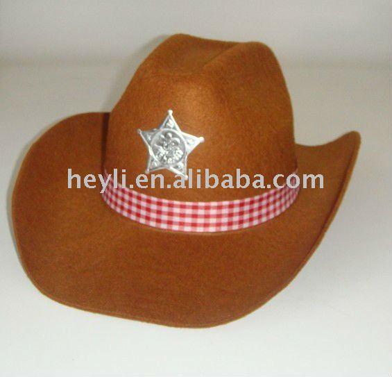 Como hacer un sombrero de vaquero - Imagui 6152537afa1