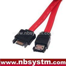 high quality SATA male to eSATA female(SATA-II) extension cable 0.3m