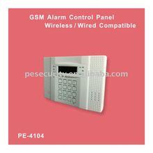 Fire and burglar Alarm Control Panel gsm+pstn with app home alarm system