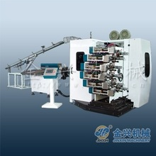 automatic six color plastic cup printing machine