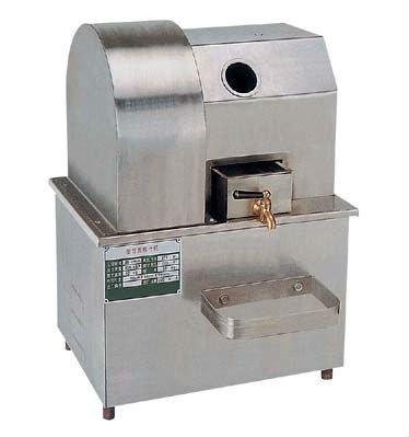 En acier inoxydable extracteur de jus de canne à sucre