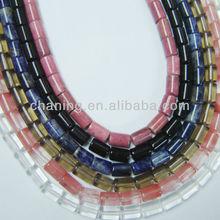 Wholesale fashion jewelry beads natural gemstone tube beads
