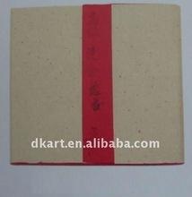 Cina grande qualità di carta di riso, fatto a mano, rosso,