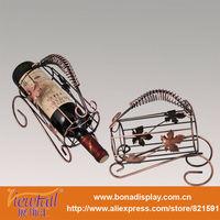 Fashion iron wine display holder BN-C0009