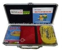 mini handle aluminum alloy car First-aid kit, family is available