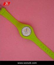 2012 new year top brand new style silicon wach fashion watch wrist watch