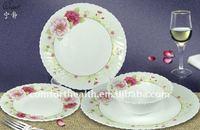 opal glass 24 pcs dinner set/opal set/dinnerware