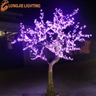 outdoor simulation led cherry tree