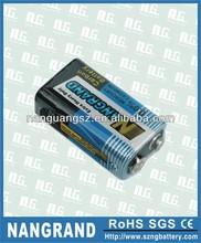 9V heavy duty dry battery 6f22