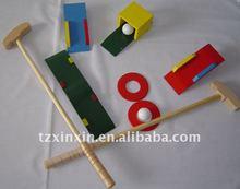 Wooden Garden golf games/ outdoor kids games