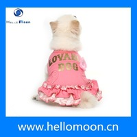 2015 Hot Sell Summer Pet Clothes Wholesale Fancy Dog Dress